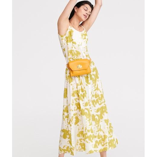 8f3d015f Reserved - Sukienka maxi tie-dye Wielobarwn