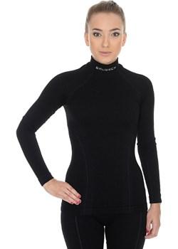 Koszulka Termoaktywna damska Brubeck Wool Merino czarna Brubeck  bieliznatermoaktywna.com.pl - kod rabatowy