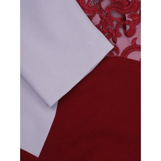 c6d4d3f837 Elegancka sukienka z imitacją żakietu Zoika II