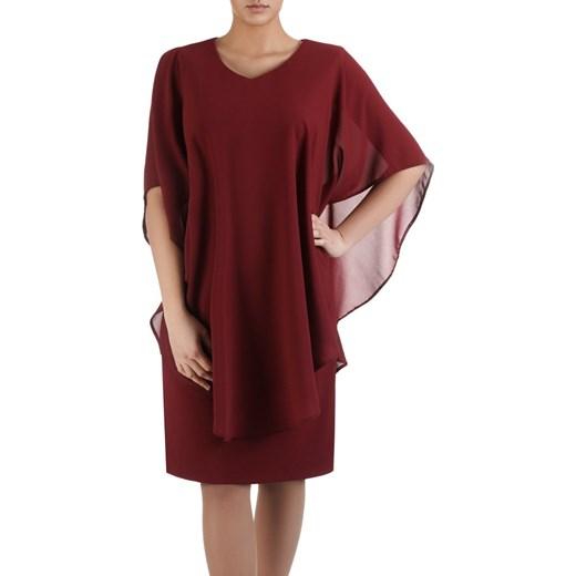 698cf7bfb0 Sukienka z narzutką maskującą brzuch Leonarda II