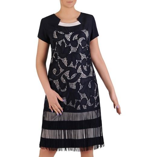 4fea5402 Sukienka damska Sabrina, elegancka kreacja wizytowa. Modbis