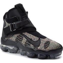 fd982a7dc5464 Buty zimowe męskie Nike ze skóry ekologicznej casual z klamrą ...