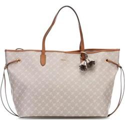 3383a1507dd07 Shopper bag Joop! duża z nadrukiem z breloczkiem elegancka