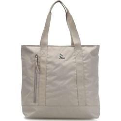4a9c98c74783d Shopper bag Lacoste poliestrowa mieszcząca a4 bez dodatków na ramię