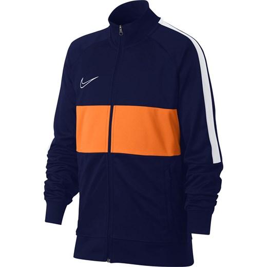 dobry Kurtka chłopięca Nike niebieska Odzież Dziecięca OM