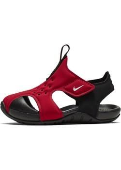 SANDAŁY JUNIOR NIKE SUNRAY PROTECT 2 CZERWONE 943827-601 (TD) - Czerwony  Nike adrenaline.pl - kod rabatowy