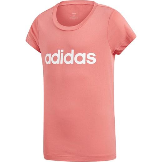 Bluzka dziewczęca Adidas Performance z krótkimi rękawami
