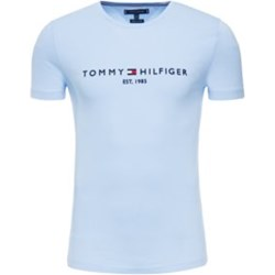 88833dc16af41 Niebieskie t-shirty męskie tommy hilfiger, lato 2019 w Domodi