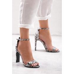 dd0ce9e47cec33 Seksowne szpilki sandały Różowe merg-pl rozowy damskie w Domodi