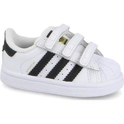c97989d8d936b Buty sportowe dziecięce Adidas Originals na rzepy bez wzorów