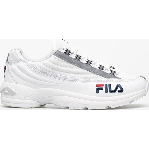 Buty sportowe męskie Fila białe skÓrzane www