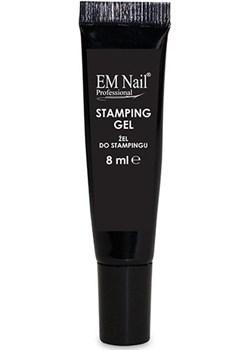 Żel do stampingu w tubce 8ml, czarny  Em Nail Professional em-nail.pl - kod rabatowy