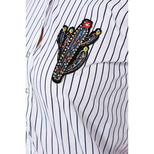 trwałe modelowanie Koszula damska Fasardi tkaninowa Odzież  eI7qQ