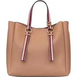 aefa9d68c0567 Shopper bag Puccini elegancka bez dodatków na ramię
