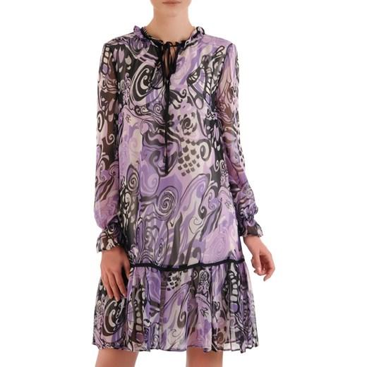 6372bb7a Sukienka na spacer luźna z szyfonu