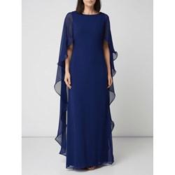 e91706cb1b701 Sukienka Lauren Ralph z okrągłym dekoltem karnawałowa na bal bez rękawów