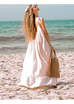 Sukienka Gypsy jasny beż  Lilalou Stardust Butik  - kod rabatowy