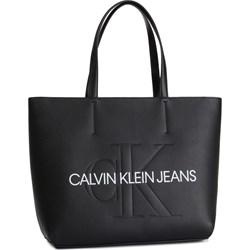 c375e514c6ae78 Shopper bag Calvin Klein na ramię ...