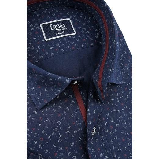 Koszula męska Espada w abstrakcyjne wzory w stylu  2iLvV
