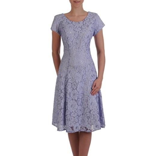 19d7f65e Sukienka na wesele 16553, elegancka kreacja z koronki. Modbis