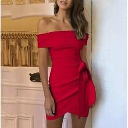 378c4f77 Sukienki z odkrytymi ramionami, lato 2019 w Domodi
