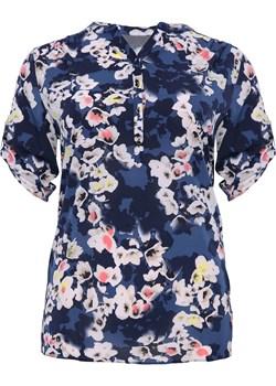 Luźna bluzka ogród sardyński   Modne Duże Rozmiary - kod rabatowy