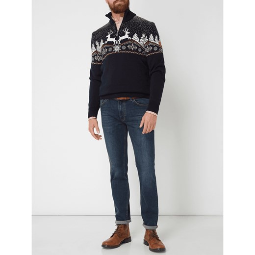 tani Sweter męski czarny Dale Of Norway z wełny Odzież Męska