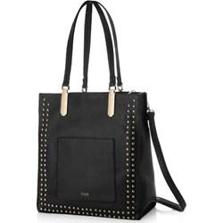 0da70f31 Shopper bag czarna Felice na ramię duża w stylu glamour