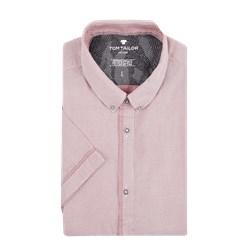 9968f918d97a30 Koszula męska Tom Tailor bez wzorów z krótkim rękawem