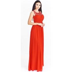 6ce5826c5e12fc Sukienka Pretty Women z aplikacjami w serek na bal maxi