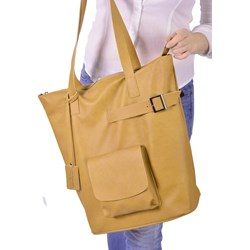 3b5e8cffc5355 Shopper bag Designs skórzana na ramię duża