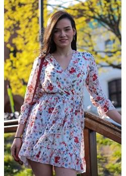 SUKIENKA FELICIA FLOWERS  Gianna Butik okazyjna cena   - kod rabatowy