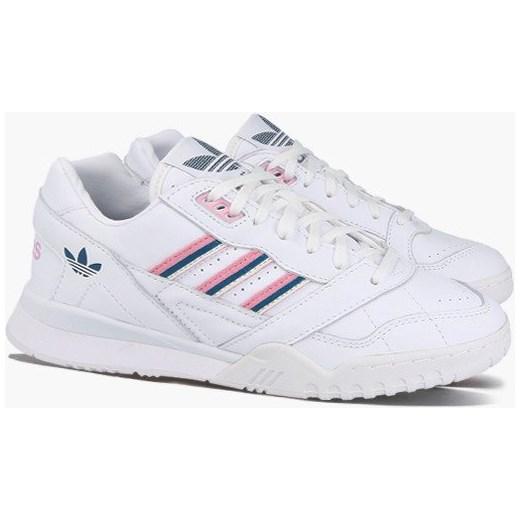 Buty sportowe damskie Adidas do biegania białe sznurowane