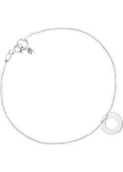 Bransoletka Celebrytka z Oponką Srebrna Perlove  Biżuteria-Perlove - kod rabatowy
