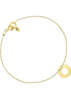 Bransoletka Celebrytka z Oponką Pozł.  Perlove Biżuteria-Perlove - kod rabatowy