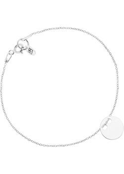 Bransoletka Celebrytka z Kółkiem Srebrna Perlove  Biżuteria-Perlove - kod rabatowy