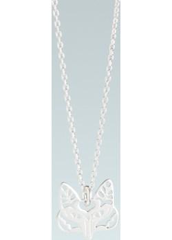 Naszyjnik z kółeczkami, srebrny rodowany Moda Italiana  Peani.pl - kod rabatowy