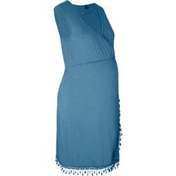 62cd96d8 Sukienka ciążowa Bonprix niebieska