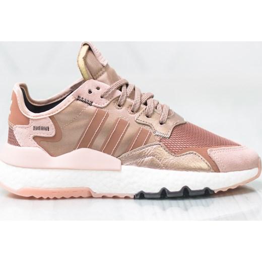Buty sportowe damskie Adidas dla biegaczy różowe