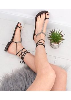 Sandałki damskie Fresko 070-2 Czarne Fresko  twojeobuwie.pl - kod rabatowy