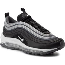 6beff4e28f2413 Sneakersy damskie Nike czarne sznurowane z tworzywa sztucznego na koturnie  sportowe