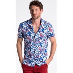 9f0110c3d Koszula męska Ombre młodzieżowa z krótkim rękawem
