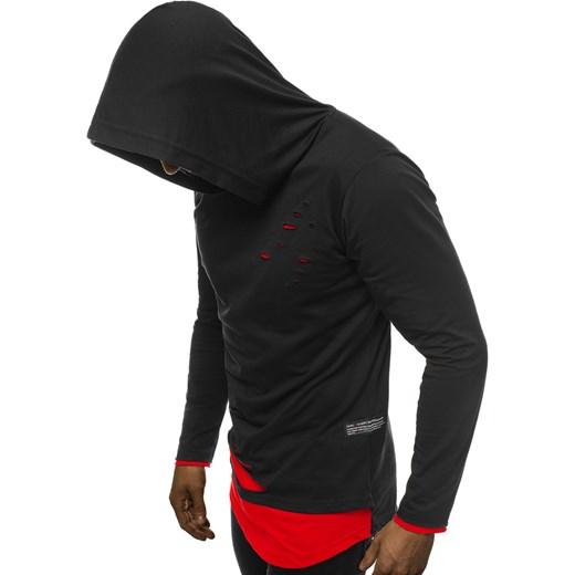 bluza męska hrs96 czarny