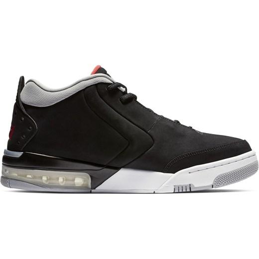 Buty sportowe męskie czarne Jordan nike air skórzane sznurowane