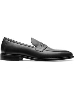 Buty loafers black  Guns&Tuxedos okazja   - kod rabatowy
