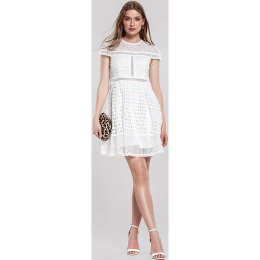 b4cf0da7e ... Biała Sukienka Debonaire Renee M Renee odzież ...