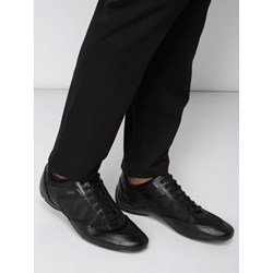 0aaf2e2c Czarne buty sportowe męskie Boss na wiosnę sznurowane