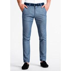 53a00396b Niebieskie spodnie męskie, lato 2019 w Domodi