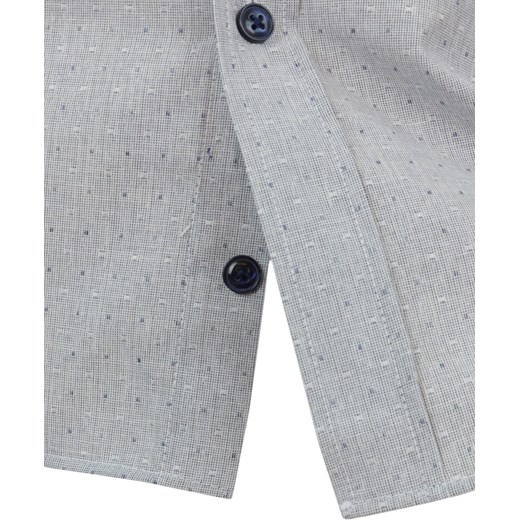 Koszula męska z krótkim rękawem Odzież Męska PU Koszule