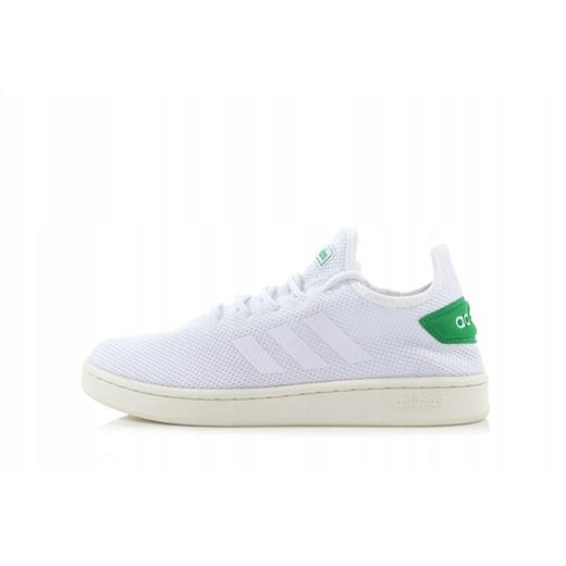 Trampki męskie białe Adidas Neo na wiosnę sportowe